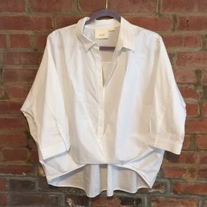 Twist on your boring white button-up